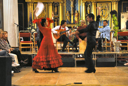 Juan Martin Flamenco Ensemble at St.Chad's