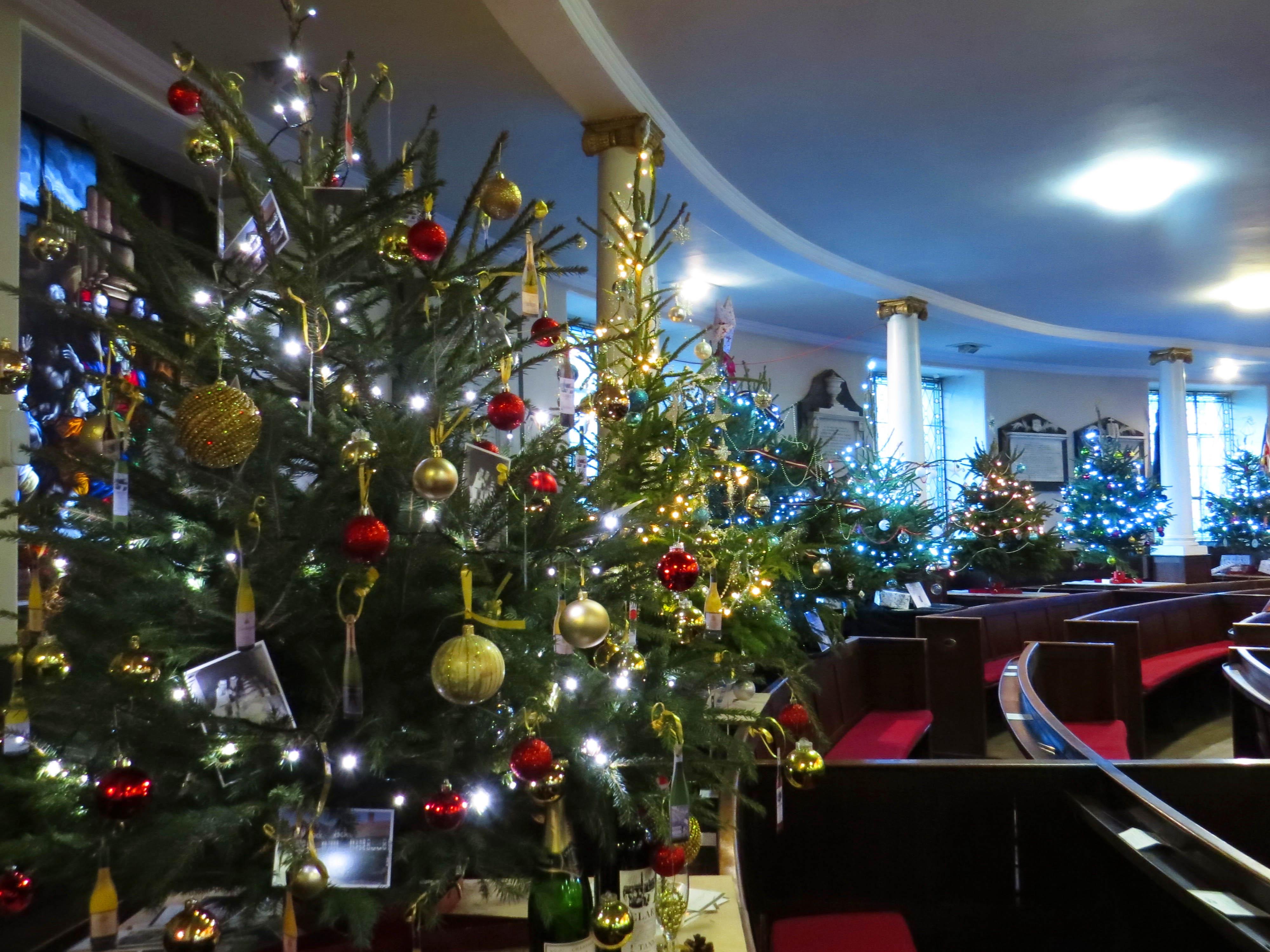 sponsor a christmas tree st chad u0027s shrewsburyst chad u0027s shrewsbury